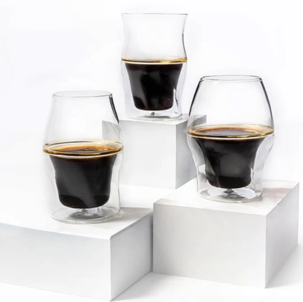 AVENSI 3 Piece Complete Set Coffee Enhancing Glassware BrewGear.store Equipment Filter