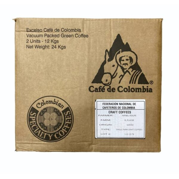 Colombia – El Placer – Natibel Realpe Ortega – Microlot Coffee Direct Trade Espresso Fair2Farmer Fully Washed Washed